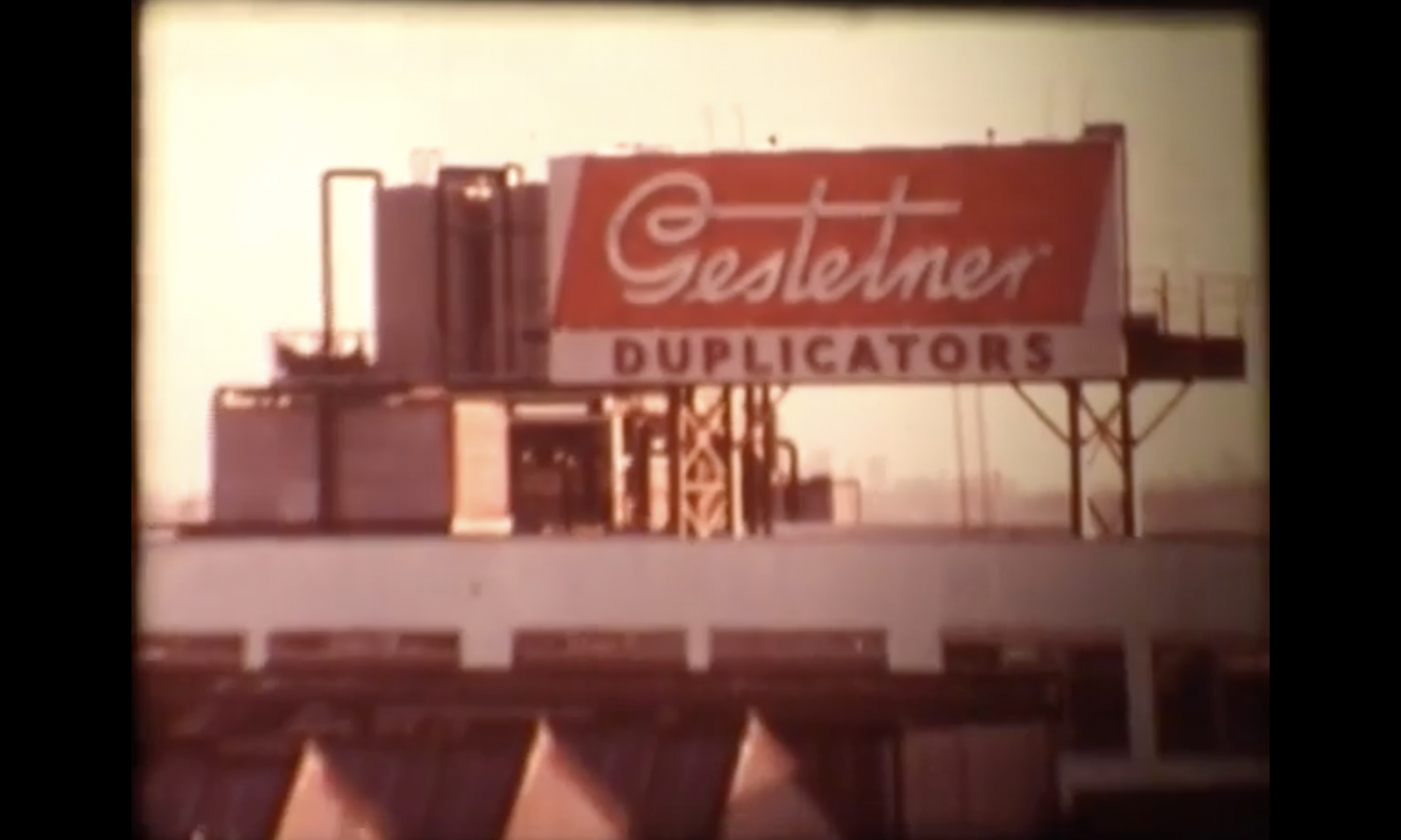 Gestetner Factory photo image