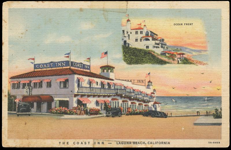 Coast Inn postcard