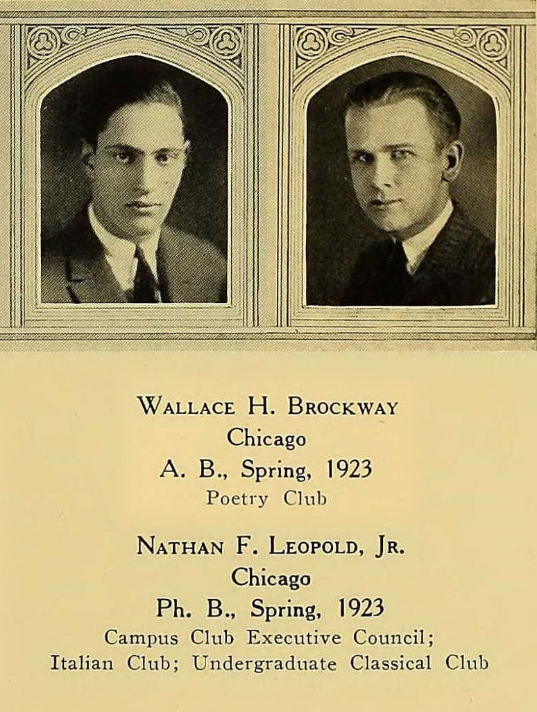 Brockway and Leopold Yearbook composite image